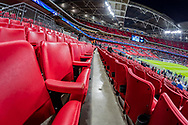 A general view prior to the Champions League match between Tottenham Hotspur and Juventus FC at Wembley Stadium, London, England on 7 March 2018. Picture by Toyin Oshodi.