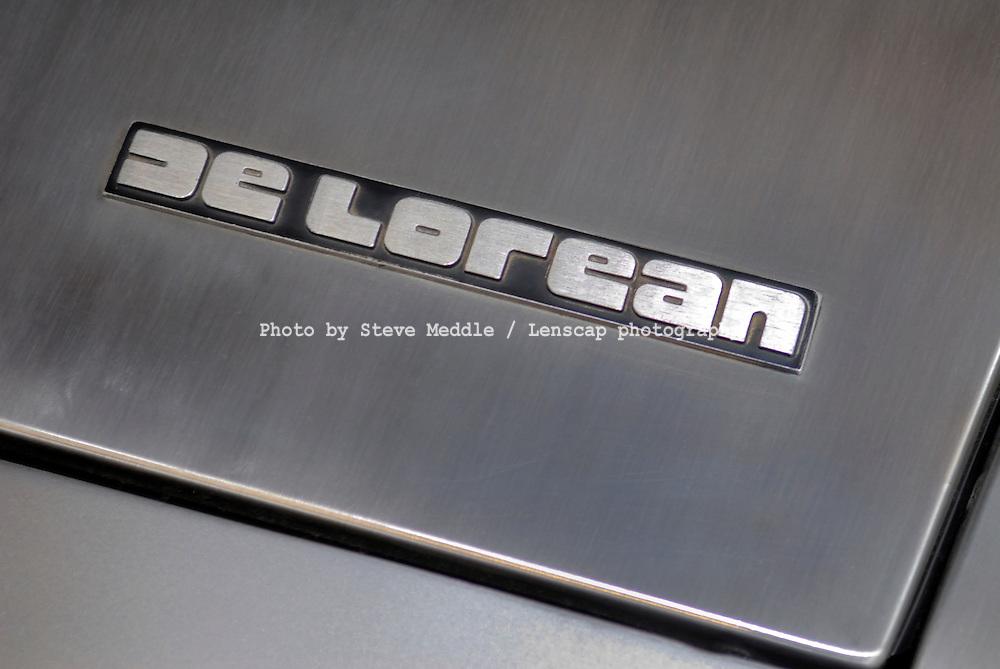DeLorean DMC-12 Badge Detail - 2010