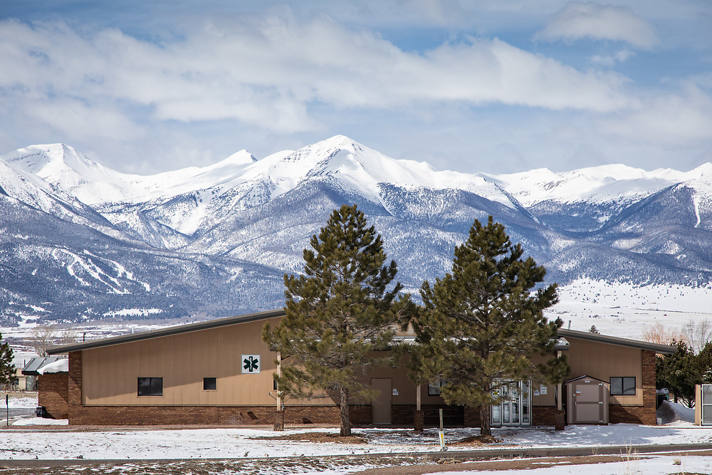 Custer County Medical Center in Westcliffe, CO.