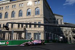 June 23, 2017 - Baku, Azerbaijan - Motorsports: FIA Formula One World Championship 2017, Grand Prix of Europe, .#31 Esteban Ocon (FRA, Sahara Force India F1 Team) (Credit Image: © Hoch Zwei via ZUMA Wire)
