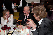 KATE REARDON; CLAUS VON BULOW; JANE CHURCHILL, Graydon and Anna Carter host a lunch for Carolina Herrera to celebrate the ipening of her new shop on Mount St. .The Connaught. London. 20 January 2010