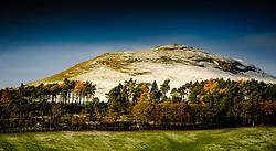 Quothquan Law in South Lanarkshire Scotland on a cold winter morning.<br /> <br /> (c) Andrew Wilson   Edinburgh Elite media