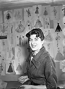 Miss Hilda Larkin, Teacher at the Grafton Academy of Dress Design<br />