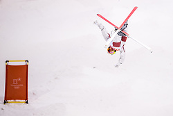 February 12, 2018 - Pyeongchang, SOUTH KOREA - 180212  Mikael Kingsbury of Canada competes in the menÃ•s moguls final during day three of the 2018 Winter Olympics on February 12, 2018 in Pyeongchang..Photo: Carl Sandin / BILDBYRN / kod CS / 57999_286 (Credit Image: © Carl Sandin/Bildbyran via ZUMA Press)