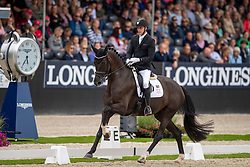 Helgstrand Andreas, DEN, Queenparks Wendy<br /> World Championship Young Dressage Horses - Ermelo 2019<br /> © Hippo Foto - Dirk Caremans<br /> Helgstrand Andreas, DEN, Queenparks Wendy