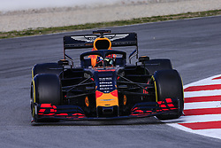 February 19, 2019 - Barcelona, Barcelona, Spain - Pierre Gasly from France with 10 Aston Martin Red Bull Racing - Honda RB15 in action during the Formula 1 2019 Pre-Season Tests at Circuit de Barcelona - Catalunya in Montmelo, Spain on February 19. (Credit Image: © Xavier Bonilla/NurPhoto via ZUMA Press)