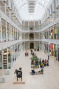 The interior of the National Museum of Scotland on the 9th November 2018 in Edinburgh, Scotland in the United Kingdom.