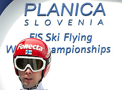 21.03.2010, Planica, Kranjska Gora, SLO, FIS SKI Flying World Championships 2010, Flying Hill Team, im Bild HAUTAMAEKI Matti, ( FIN ), EXPA Pictures © 2010, PhotoCredit: EXPA/ J. Groder / SPORTIDA PHOTO AGENCY