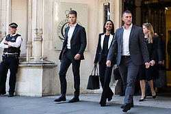 London, UK. 18 September, 2019. Businesswoman Gina Miller leaves the Supreme Court at the end of the second day of a hearing to consider whether the Prime Minister broke the law by suspending Parliament in advance of Brexit Day. The purpose of the hearing is to adjudicate as to which of two court rulings should prevail, either a ruling by the High Court that the suspension of Parliament is a political decision to be made by the Prime Minister or a ruling by the Scottish courts that the Prime Minister's actions in proroguing Parliament were unlawful. Credit: Mark Kerrison/Alamy Live News