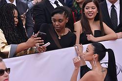 Draya Michele at The 49th NAACP Image Awards held at the Pasadena Civic Auditorium on January 15, 2018 in Pasadena, CA, USA (Photo by Sthanlee B. Mirador/Sipa USA)