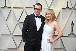 February 24, 2019 - Los Angeles, California, U.S - BRANDON PROCTOR AND GUEST during red carpet arrivals for the 91st Academy Awards, presented by the Academy of Motion Picture Arts and Sciences (AMPAS), at the Dolby Theatre in Hollywood. (Credit Image: © Kevin Sullivan via ZUMA Wire)