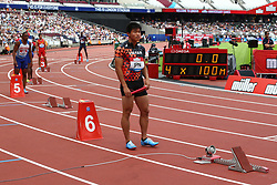 July 22, 2018 - London, United Kingdom - Japen Relay Team 1st Leg runner in  the 4 x 400m Relay Men  during the Muller Anniversary Games IAAF Diamond League Day Two at The London Stadium on July 22, 2018 in London, England. (Credit Image: © Action Foto Sport/NurPhoto via ZUMA Press)