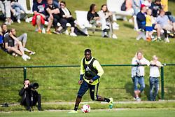 June 6, 2017 - Helsingborg, SVERIGE - 170606 Isak Ssewankambo under en trÅning med U21-landslaget i fotboll den 6 juni 2017 i Helsingborg  (Credit Image: © Ludvig Thunman/Bildbyran via ZUMA Wire)