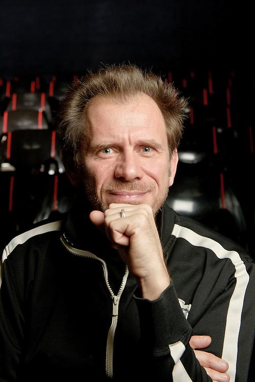 "Brussels, Belgium 19 December 2011<br /> Portrait of Jean-Marc Cuvelier, actor and co-founder of ""La Ligue d'Impro"".<br /> Photo: Ezequiel Scagnetti"