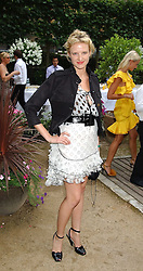 FIONA SCARRY at the Tatler Summer Party in association with Moschino at Home House, 20 Portman Square, London W1 on 29th June 2005.<br /><br />NON EXCLUSIVE - WORLD RIGHTS