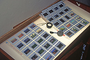 A293G8 Photographic transparency slides on light box