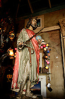 Statue of Jesus holding a sword, Kalk Bay/Simonstown Generic Photos, Cape Town South Africa