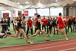 Boston University Terrier Invitational Indoor Track Meet: pacesetters Ross, Ulrey lead Galen Rupp, Oregon Project, to win Elite Mile 3:50.92