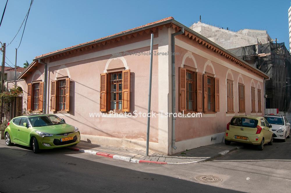 Israel, Tel Aviv, Neve Tzedek, established 1887 and was the first Jewish settlement outside of Jaffa. In 1909 Neve Tzedek neighbourhood was incorporated into Tel Aviv. In Shabazi street