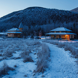 Crawford's Depot in Crawford Notch in New Hampshire's White Mountains.