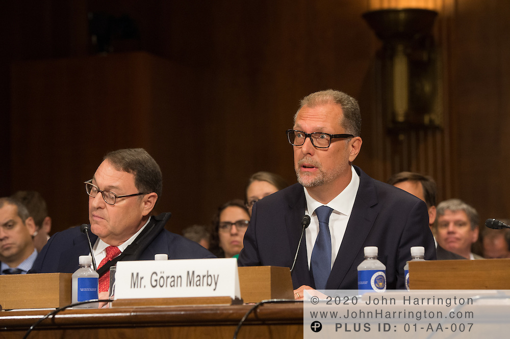 """Mr. Göran Marby, CEO and President, Internet Corporation for Assigned Names and Numbers (ICANN) testifies Wednesday September 14, 2016, before the Subcommittee on Oversight, Agency Action, Federal Rights and Federal Courts, testimony was also heard from The Honorable Lawrence E. Strickling, Assistant Secretary for Communications and Information and Administrator<br /> National Telecommunications and Information Administration (NTIA), United States Department of Commerce;  Mr. Göran Marby, CEO and President, Internet Corporation for Assigned Names and Numbers (ICANN); Mr. Berin Szoka, President, TechFreedom; Mr. Jonathan Zuck, President, ACT The App Association;  Ms. Dawn Grove, Corporate Counsel<br /> Karsten Manufacturing; Ms. J. Beckwith (""""Becky"""") Burr, Deputy General Counsel and Chief Privacy Officer, Neustar;  Mr. John Horton, President and CEO, LegitScript;  Mr. Steve DelBianco, Executive Director, NetChoice; Mr. Paul Rosenzweig, Former Deputy Assistant Secretary for Policy, U.S. Department of Homeland Security."""
