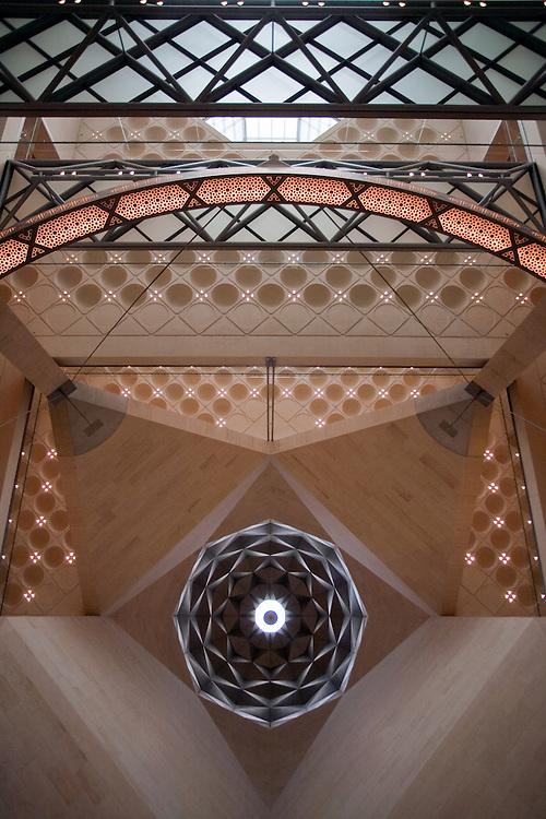 The Interior of The Museum of Islamic Art, Doha, Qatar, I. M. Pei