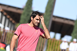 March 8, 2019 - Palm Desert, California, Usa - Tennis : BNP Paribas Open 2019 - Roger Federer - Suisse (Credit Image: © Panoramic via ZUMA Press)