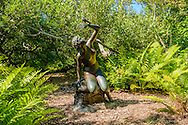Statue, 207 Lily Pond Lane, East Hampton, NY