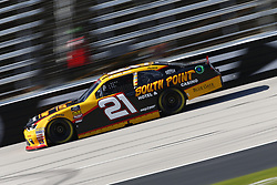 November 2, 2018 - Ft. Worth, Texas, United States of America - Daniel Hemric (21) takes to the track to practice for the O'Reilly Auto Parts Challenge at Texas Motor Speedway in Ft. Worth, Texas. (Credit Image: © Justin R. Noe Asp Inc/ASP via ZUMA Wire)