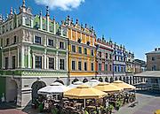 Kamienice ormianskie na Rynku Wielkim w Zamościu