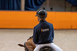 Van Zwambagt Febe, NED, Fyeo<br /> Fotodag KWPN Hengstenkeuring 2021<br /> © Hippo Foto - Dirk Caremans<br /> 09/01/2021