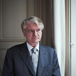 PARIS, FRANCE. NOVEMBER 29, 2011. BNP Paribas' CEO Baudouin Prot in his office. Photo: Antoine Doyen