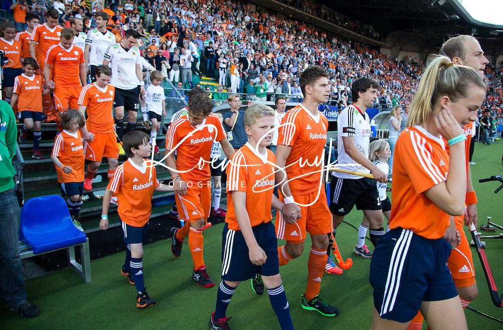 DEN HAAG - Opkomst Nederlands team . WK Hockey. Copyright Koen Suyk
