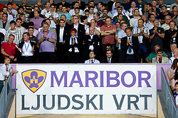 Franc Kangler, Ivan Simic, Dane Jost, Alfi Nipic  at Third Round of Champions League qualifications football match between NK Maribor and FC Zurich,  on August 05, 2009, in Ljudski vrt , Maribor, Slovenia. Zurich won 3:0 and qualified to next Round. (Photo by Vid Ponikvar / Sportida)
