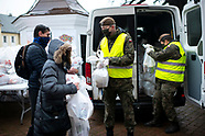 Żołnierze WOT pomagali rozdawać paczki na Wigili Caritasu - 24.12.2020