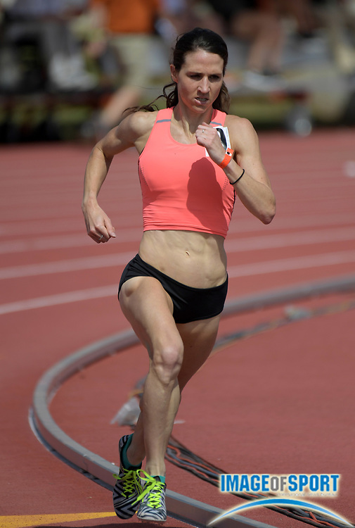 Mar 31, 2018; Austin, TX, USA; Dana Mecke wins the women's 1,500m in 4:13.53 during the 91st Clyde Littlefield Texas Relays at Mike A. Myers Stadium.