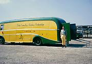 British Sports car racing driver Bill de Selincourt, R William de Selincourt, 1921-2014  John Coundley Racing partnership vehicle 1963