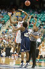 20080307 - #25 Virginia vs Georgia Tech (NCAA Women's Basketball)