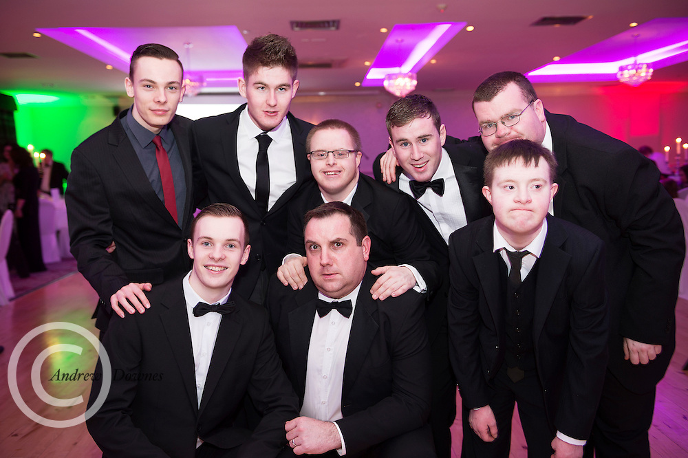 The Ability West Best Buddies Ball at the Menlo Park Hotel, Galway. Students from GMIT and NUIG buddy up with Ability West Service users for friendships that last a lifetime celebrated at this gala ball.<br /> Enjoying the night were<br />  Photo:Andrew Downes, xposure.