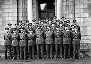 Army Officers for Lebanon at GHQ .23/09/1958 ..Since joining the United Nations in 1955, the Army has been deployed on many peacekeeping missions. The first of these missions took place in 1958, when a small number of observers were sent to Lebanon. A total of 86 Irish soldiers have died in the service of the United Nations since 1960