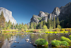 Yosemite Valley, Merced River, El Capitan, Yosemite National Park