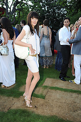 ANNABELLE NEILSON at the annual Serpentine Gallery Summer party this year sponsored by Jaguar held at the Serpentine Gallery, Kensington Gardens, London on 8th July 2010.  2010 marks the 40th anniversary of the Serpentine Gallery and the 10th Pavilion.