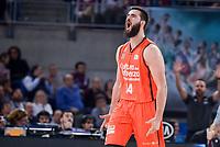 Valencia Basket's Bojan Dubljevic during Semi Finals match of 2017 King's Cup at Fernando Buesa Arena in Vitoria, Spain. February 18, 2017. (ALTERPHOTOS/BorjaB.Hojas)