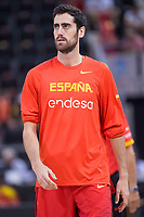 Spain's Joan Sastre during friendly match for the preparation for Eurobasket 2017 between Spain and Venezuela at Madrid Arena in Madrid, Spain August 15, 2017. (ALTERPHOTOS/Borja B.Hojas)