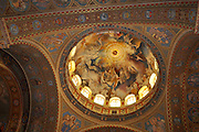 Eastern Europe, Hungary, Szeged, Dom Square, interior of the Votive Church