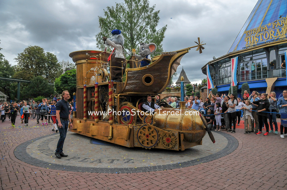 The Parade at Europa-Park is the largest theme park in Germany. is located at Rust between Freiburg and Strasbourg, France.