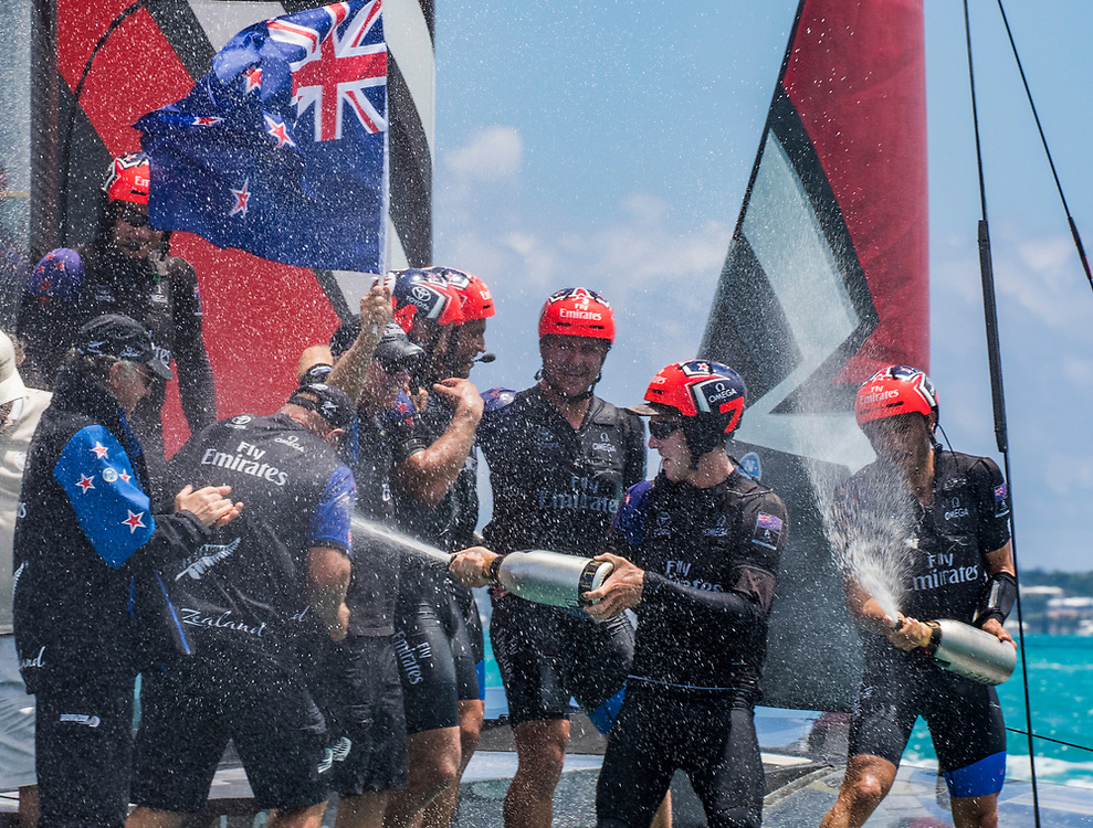 Emirates Team New Zealand<br /> <br /> Day  5<br /> 2017 35th America's Cup Bermuda