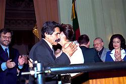 Dilma Rousseff toma posse como Secretaria de Minas e Energia do Governo Olívio Dutra no Palácio Piratini em 01/01/1999. FOTO: Sérgio Néglia/Preview.com