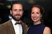 Marco Kunz mit Ehefrau Jenny anlässlich des Prix Walo 2018.