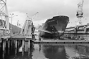 "Ackroyd 21552-R3-26. NW Marine Iron Works, second progress, Chevron Arizona. May 17, 1982"" (Swan Island)"